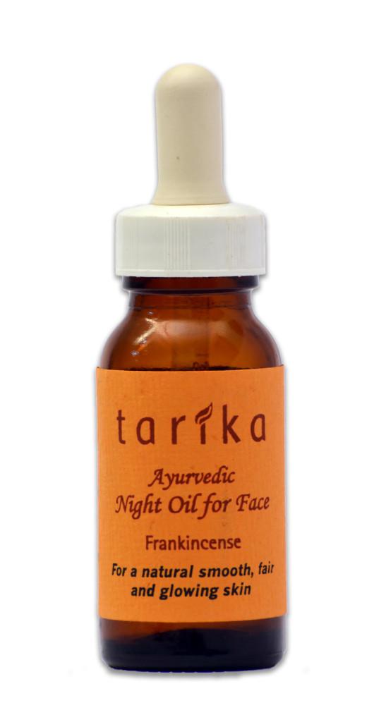 Tarika Ayurvedic Night Oil for face (frankincense) 30ml Pack of 2